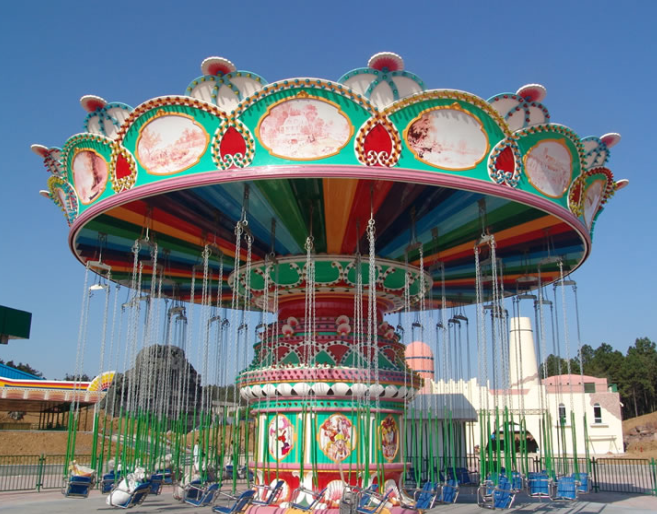 top swing carousel ride cheap ride manufacturer