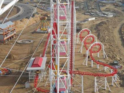 roller coaster track ride for thrill roller coaster ride