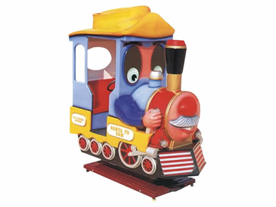 coin operated kids train ride