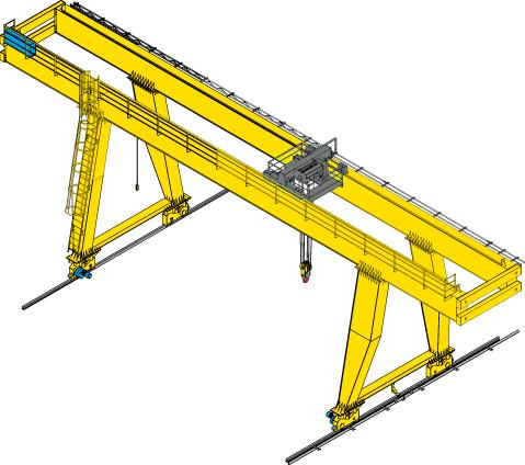 2 ton gantry crane from ellsen for sale