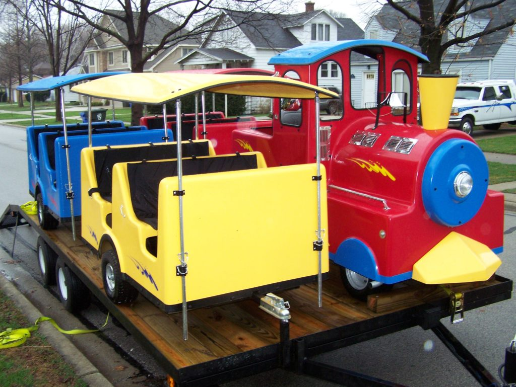 party-trackless-train