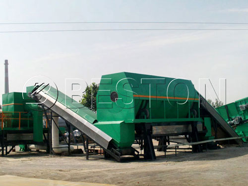 Urban Solid Waste Treatment Plant