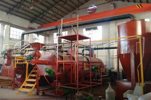 continuouscarbonization machine