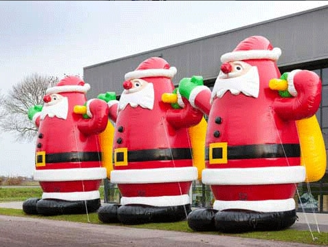 Inflatable Santa for sale