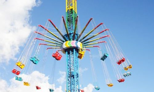 Buy Swing Tower Rides in China