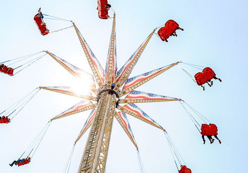 Swing Tower Rides in China