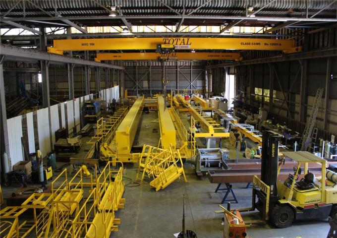 3.2 tons overhead crane support