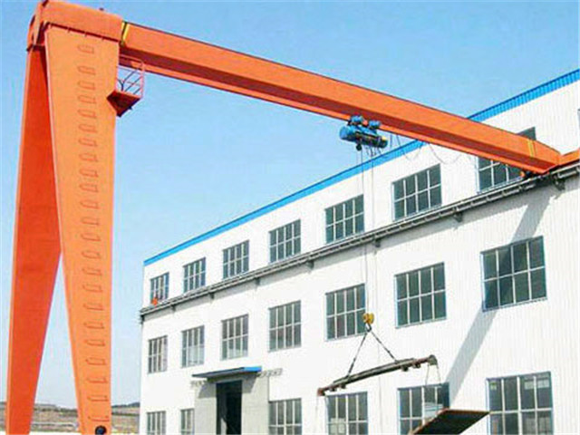Semi gantry crane form China