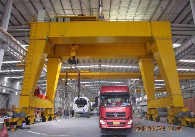 Order two girder gantry crane 50 t for sale price