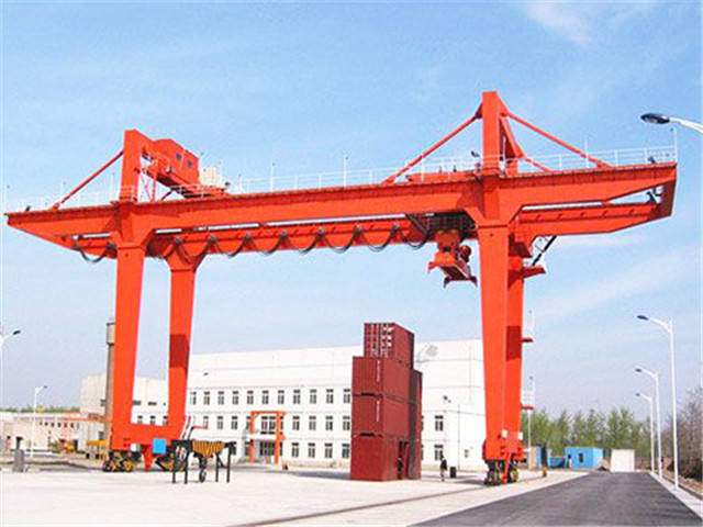 High quality rubber tyred gantry crane